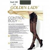 Golden Lady 40 Den Korseli Siyah Külotlu Çorap 2 B...