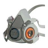 3m 6200 Yarım Yüz Maskesi M (Orta Boy)