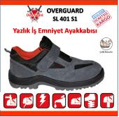 Overguard Sl 401 S1 Süet Çelik Burunlu Yazlık İş Ayakkabısı(Over)