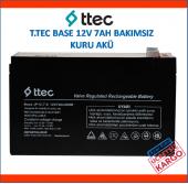 T.tec Base 12v 7ah Bakımsız Kuru Akü (Ttec Base 12v 7a)