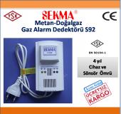 Sekma Metan Doğalgaz Alarm Dedektörü Sekma S092...