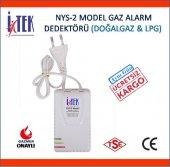 Itek Nys2 Doğalgaz Lpg Gaz Alarm Cihazı (2018 Üretim)