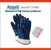 Ansell Hycron 27 805 Mekanik Ve Yağ Tutmaz İş...