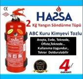 2 Kg Yangın Söndürme Tüpü Abc Denizcilik Sertifikalı 4 Yıl Garnti