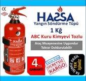 1 Kg Yangın Söndürme Tüpü Abc Tozlu 4 Yıl...