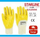 Nitril Eldiven Starline E 203 İş Eldiveni