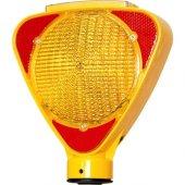 Adr Seti İçin Evelux 11811 Fl S Solar Flaşörlü Uyarı Lambası Sarı