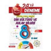 Nartest Yayınları 8. Sınıf Nar Din Kültürü 24 Deneme Sınavı