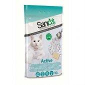 Sanicat Active Marsilya Sabunu Topaklaşan Kedi Kum...