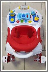 Babyhope 212 Royal Sallanir Bebek Yurutec Bebek Orumcek - Kirmizi-2