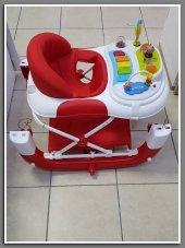 Babyhope 212 Royal Sallanir Bebek Yurutec Bebek Orumcek - Kirmizi-3
