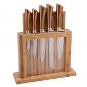 Emsan Bıçak Matriks Rose Gold 7 Parça Bıçak Seti Karaca
