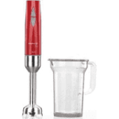 KORKMAZ A444-04 VERTEX DUO BLENDER SET INOX/KIRMIZI