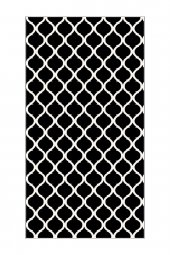 Passion 2166 160x230cm Siyah Kaydırmaz Halı