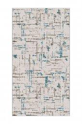 Passion 2171 100x200cm Mavi Kaydırmaz Halı