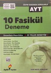 Aydın Yayınları Ayt 10 Fasikül Deneme Seti