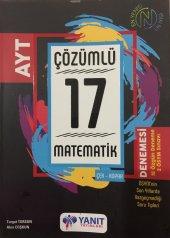Yanıt Yayınları Ayt Matematik Çözümlü 17 Denemesi