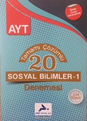 Paraf Yayınları Ayt Çözümlü 20 Sosyal Bilimler Denemesi