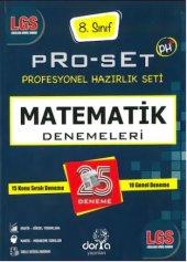 Dorya Yayınları Lgs Matematik Pro Set 25 Denemeleri