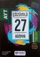 Yanıt Yayınları Ayt Kimya Çözümlü 27 Denemesi