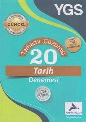 Paraf Yayınları Ygs Tamamı Çözümlü 20 Tarih Denemesi