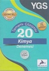 Paraf Yayınları YGS Tamamı Çözümlü 20 Kimya Denemesi