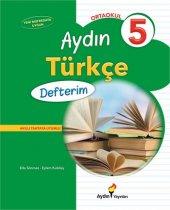Aydın Yayınları Ortaokul 5 Aydın Türkçe Defterim