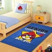 Merinos Halı Lisanslı Angry Birds Genius Çocuk Halısı 100x150
