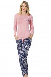 özkan 24744 Kadın Modal Pijama Takımı