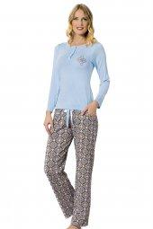 özkan 24748 Kadın Modal Pijama Takımı