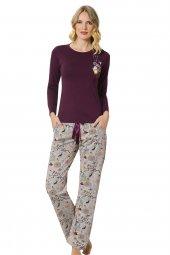 özkan 24742 Kadın Modal Pijama Takımı