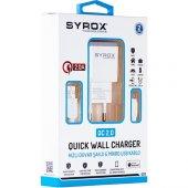 Syrox Samsung Galaxy Modeller İçin Hızlı Şarj Cihazı