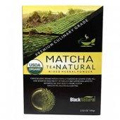 Black Natural Matcha (Maça) Japon Çayı 100 Gr