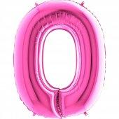 O Harf Grabo Folyo Balon Pembe 100 Cm