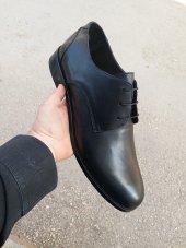 Büyük Beden 45 46 47 48 New Prato Erkek Ayakkabı B2 Siyah Antik Deri