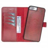 Bouletta Magic Wallet Deri Telefon Kılıfı İphone 7 8 Plus Kırmızı