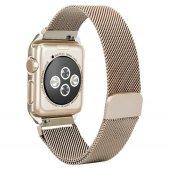 Apple Watch Series 4 GPS 40mm 40 Mm Kordon Kılıf Metal Kapak-4