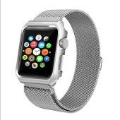 Apple Watch Series 4 GPS 40mm 40 Mm Kordon Kılıf Metal Kapak-5