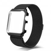 Apple Watch Series 4 GPS 40mm 40 Mm Kordon Kılıf Metal Kapak-9