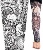 Tattoo Giyilebilir Dövme Kuru Kafa Motif