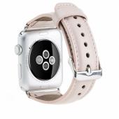 Bouletta Apple Watch Deri Kordon Nu2 Nude Pembe