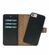 Bouletta Magic Wallet Deri Telefon Kılıfı İphone 7 8 Rst1 Siyah