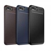 Edelfalke Apple iPhone 7 Plus Negro Silikon Kılıf-Siyah