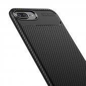 Edelfalke Apple iPhone 7 Plus Negro Silikon Kılıf-Siyah-3