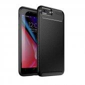 Edelfalke Apple iPhone 7 Plus Negro Silikon Kılıf-Siyah-4