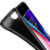 Edelfalke Apple iPhone 7 Plus Negro Silikon Kılıf-Siyah-5