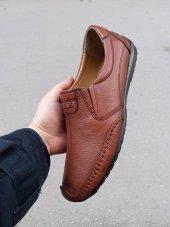 New Prato Erkek Ayakkabı 7106 Taba Lotus Deri