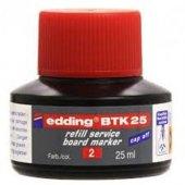 Eddıng Beyaz Tahta Kalemi Mürekkebi 25 Ml E Btk25 Kırmızı
