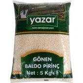 Yazar Baldo Pirinç(Gönen) 5 Kg X 4 Adet 20 Kg