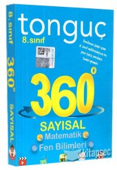 8. Sınıf 360 Serisi Sayısal Soru Bankası Tonguç Akademi